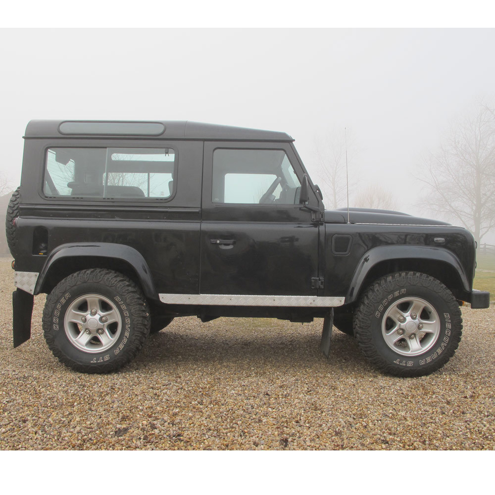 Black 2010 Land Rover Defender XS 90