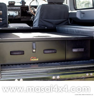 Sporting Box / Rear Lockable Storage Drawers for Land Rover Defender