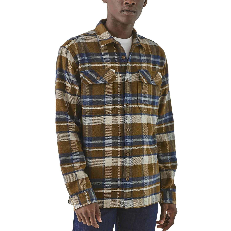 PATAGONIA L/S  Fjord Flannel Shirt M