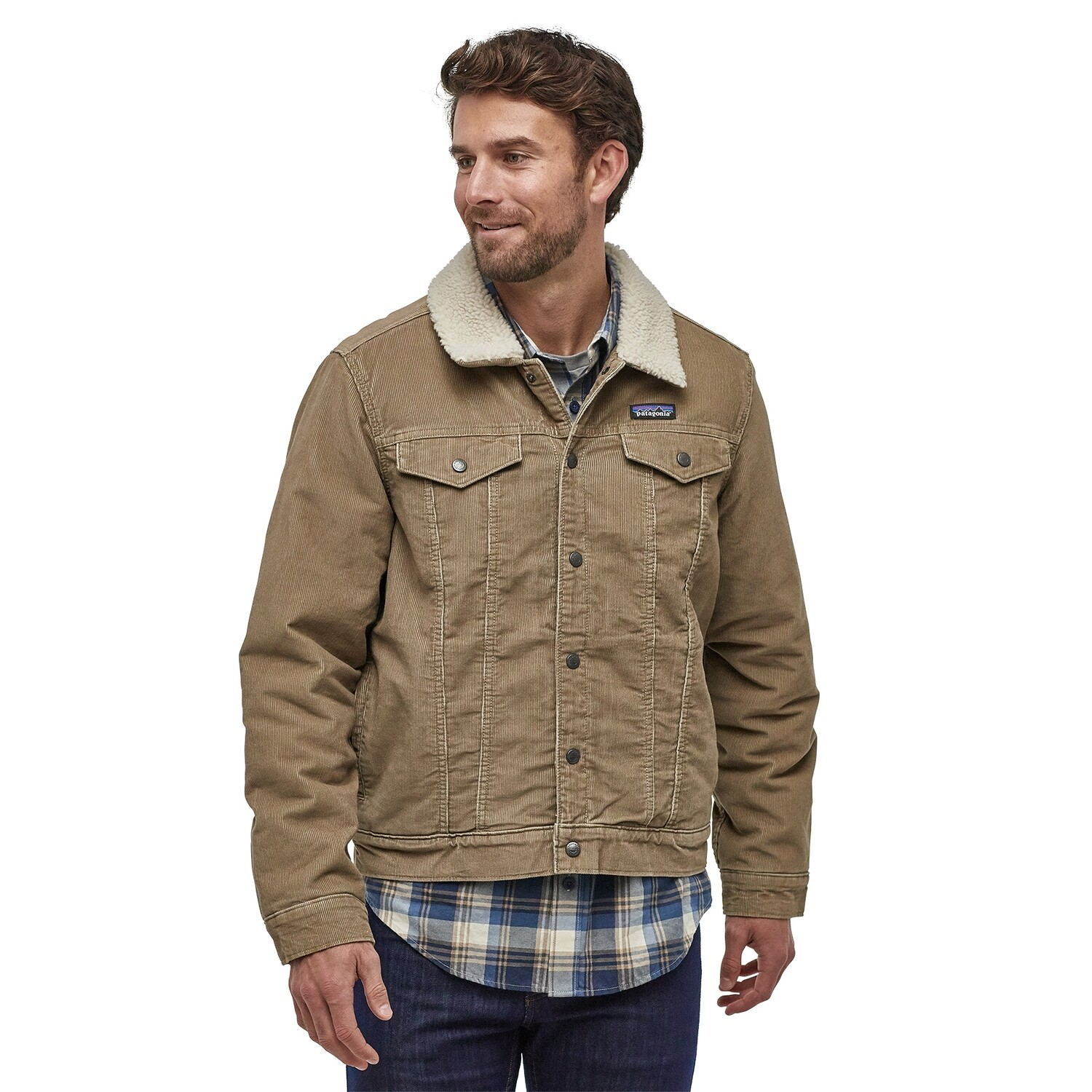 PATAGONIA Pile Lined Trucker Jacket M