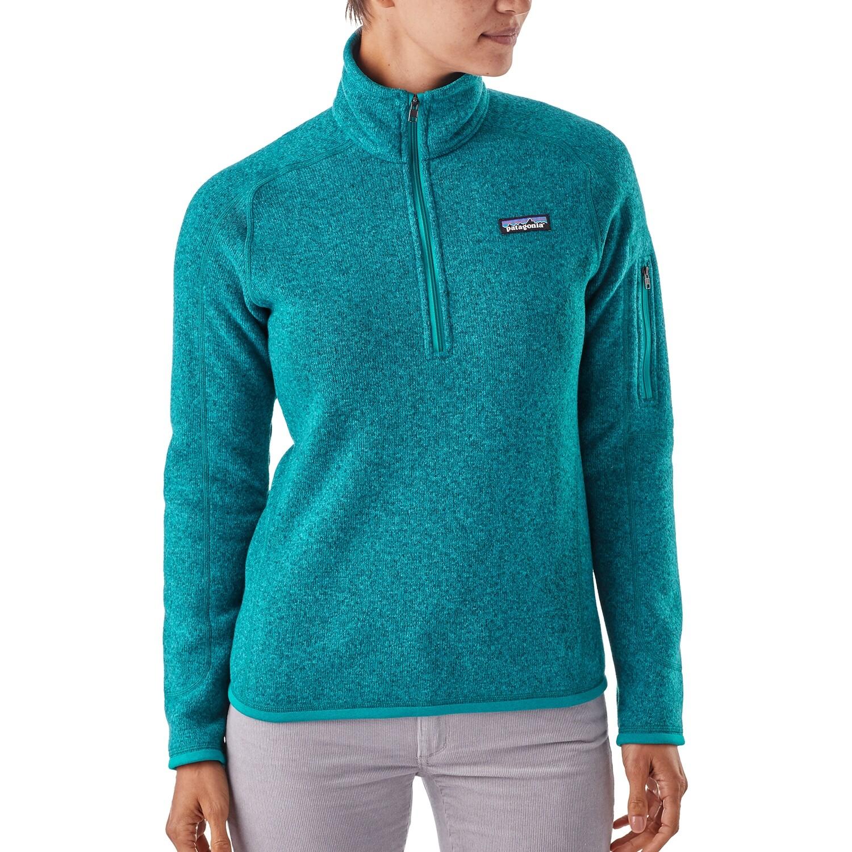 PATAGONIA Better Sweater 1/4 Zip W