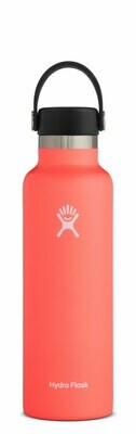 HydroFlask 21oz Std Mouth w/flex cap