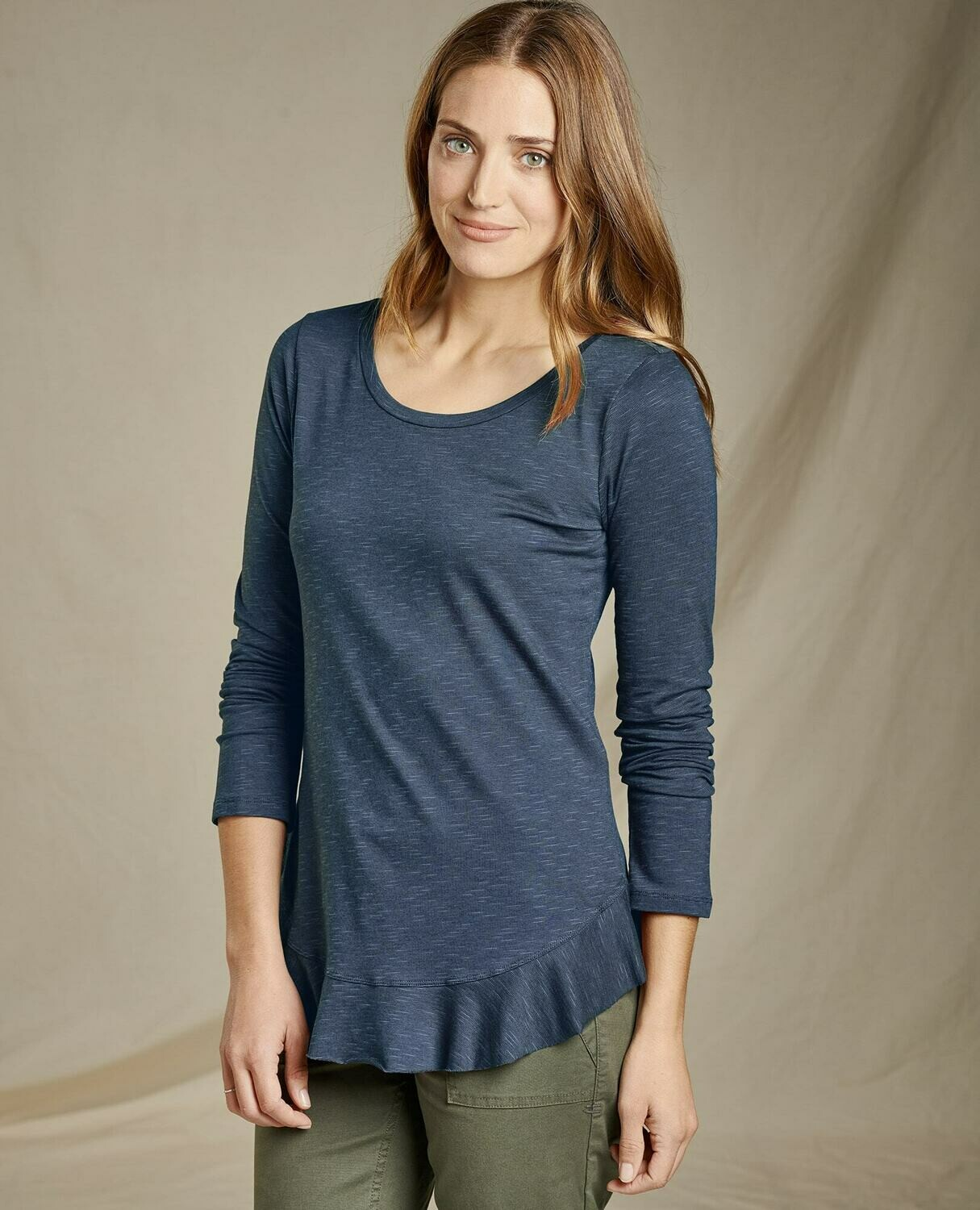 Toad and Co. Samba Flutter LS Shirt W