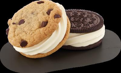 Single Custard Cookie Sandwich