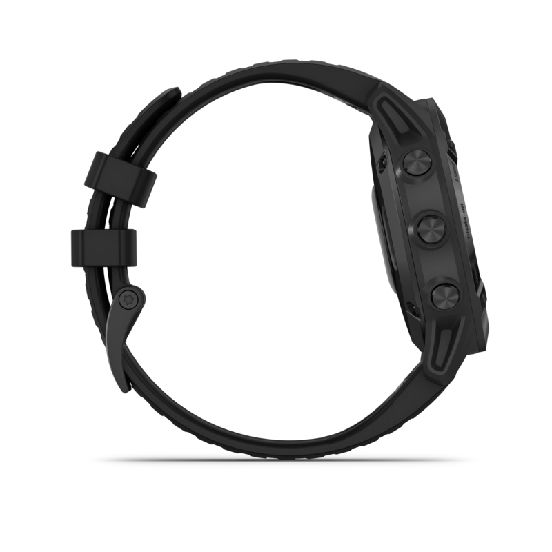 Garmin Fenix 6 PRO nero con braccialetto nero
