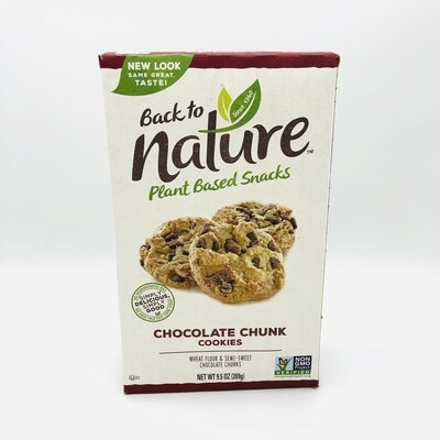 Back to Nature Chocolate Chunk Cookies