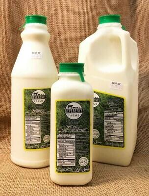 Reverence Farms A2A2 Buttermilk (quart)