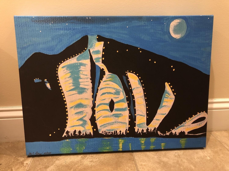 Shawnee Peak Lov Painting