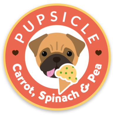 Pupsicle Carrot, Spinach and Pea