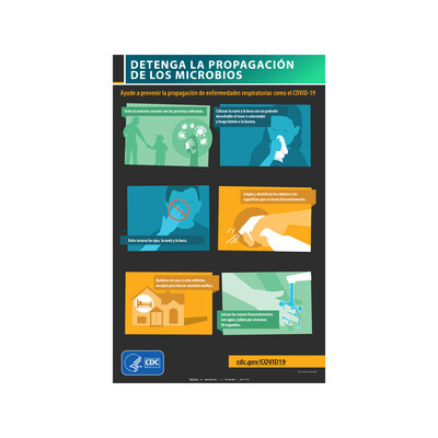 CDC - DETENGA LA PROPAGACIÓN DE MICROBIOS (ESPAÑOL)