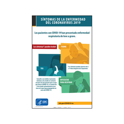 CDC - SÍNTOMAS DEL CORONAVIRUS (ESPAÑOL)