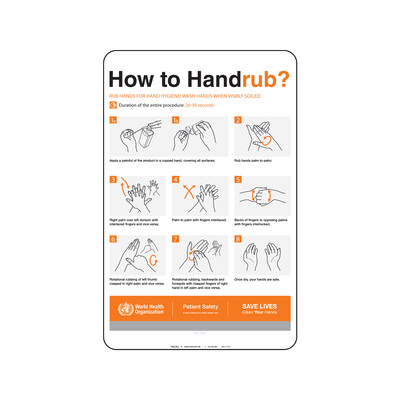 OMS- HOW TO HAND RUB? (INGLES)