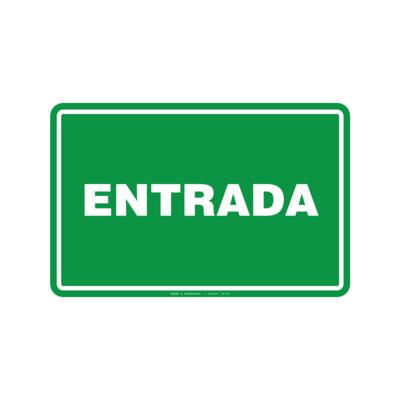 Rótulo - ENTRADA