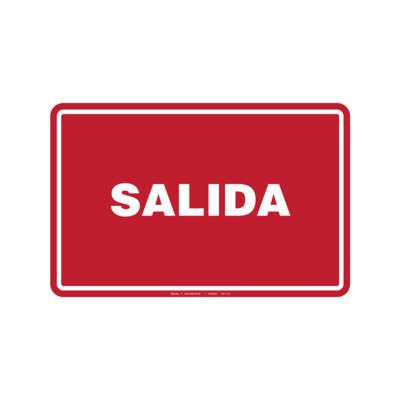 Rótulo - SALIDA