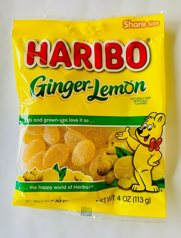 Haribo Ginger Lemon