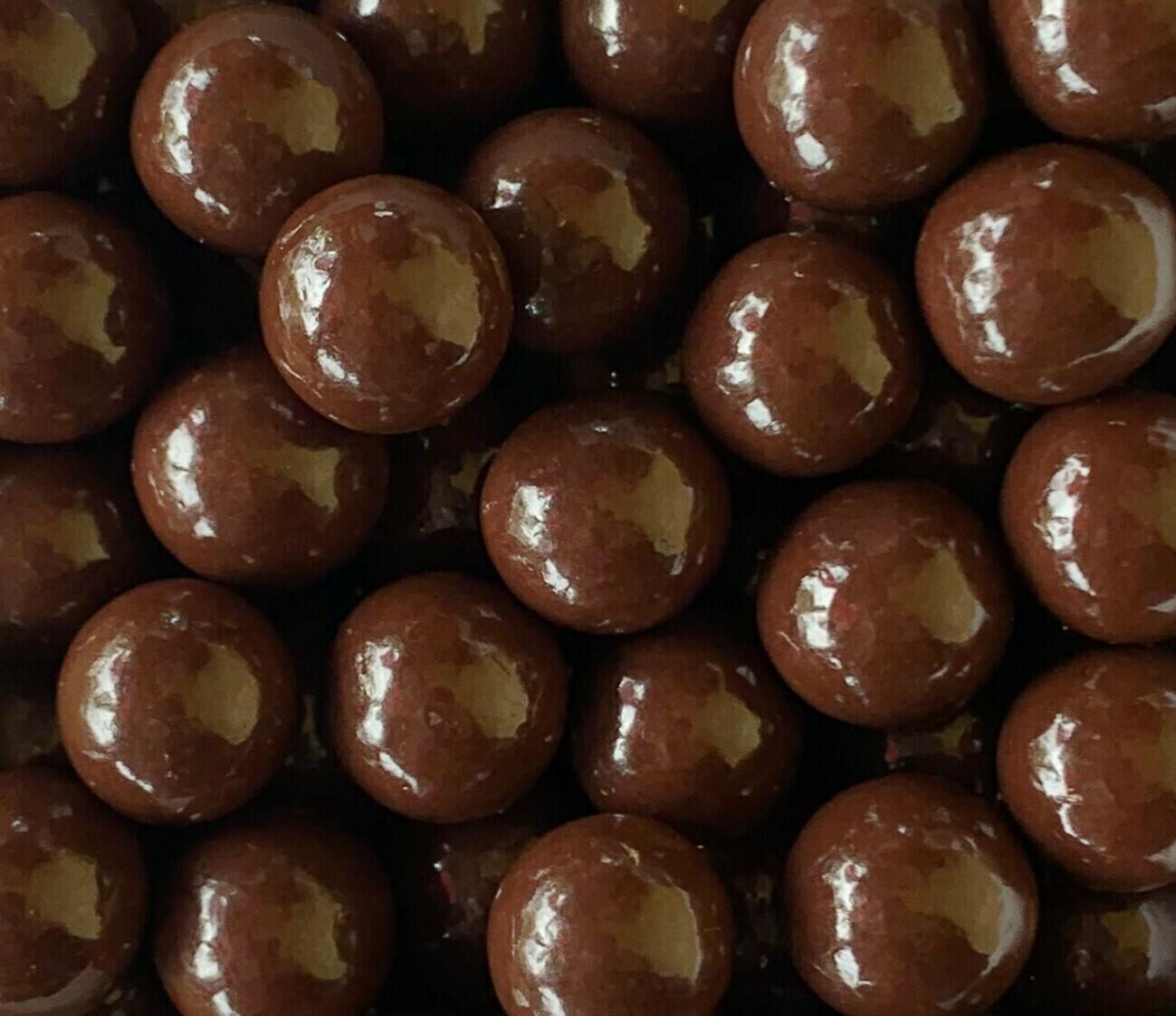Dark Chocolate Sea Salt Caramels 1/2 lb.