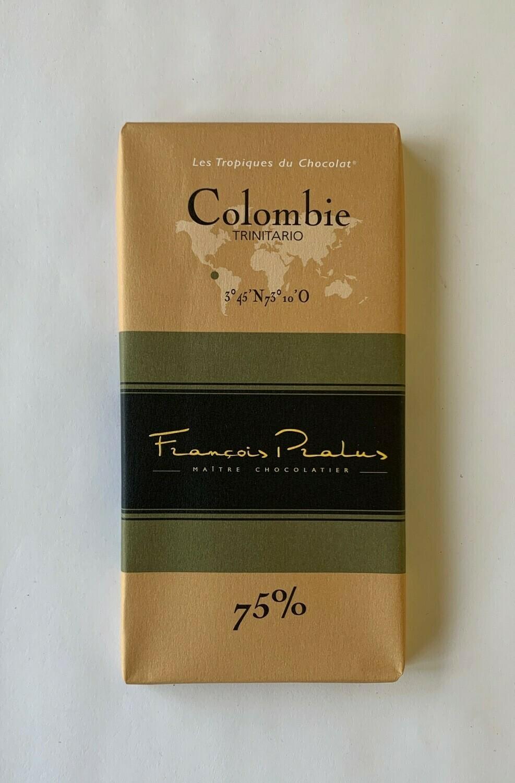 Pralus Colombie bar 75%