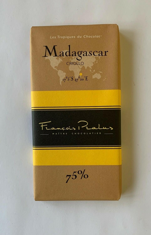Pralus Madagascar Bar 75%
