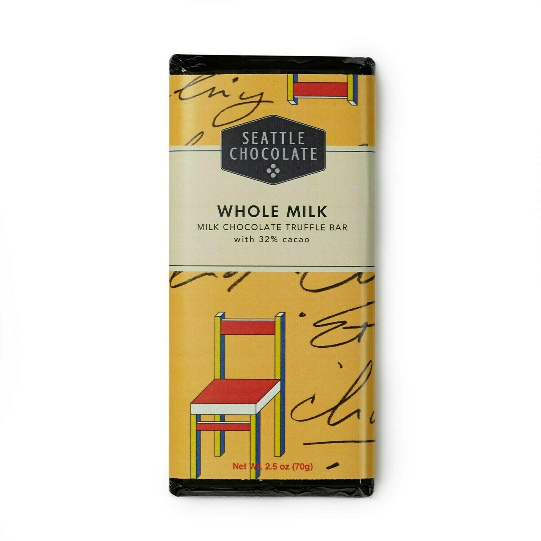 Seattle Chocolates Whole Milk Truffle Bar