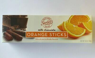 Milk Chocolate Orange Sticks