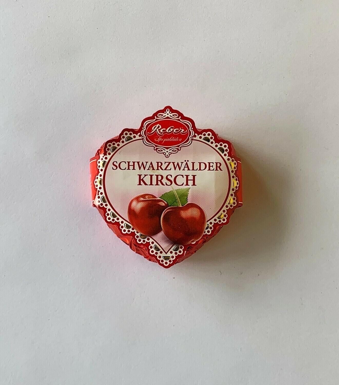 Schwarzwälder Kirsch Cherry Heart Chocolate Delight - Dark Chocolate