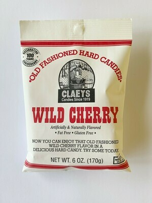 Claeys Wild Cherry Hard Candies