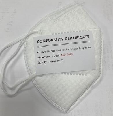 KN95 Fold Flat Particulate Respirator