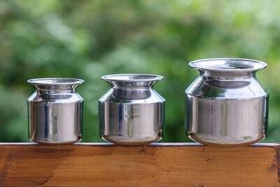 Stainless Steel Lota Pot