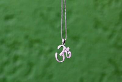 OM Necklace - Subtle Sparkles