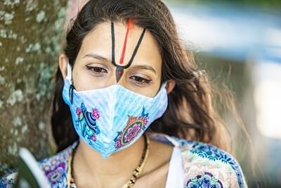 Social Mask 'Shankha Chakra'