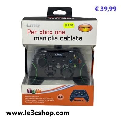 Controller Xbox One Linq Compatibile Con Filo