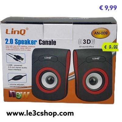 Speaker Pc Usb Linq An-009