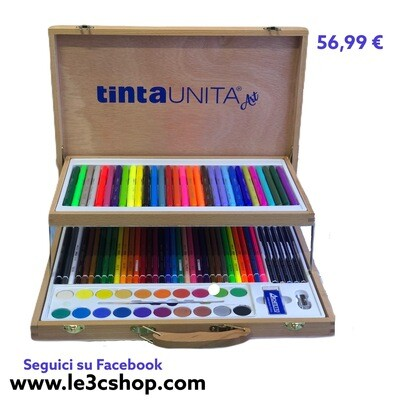 Valigetta Tinta Unita In Legno.