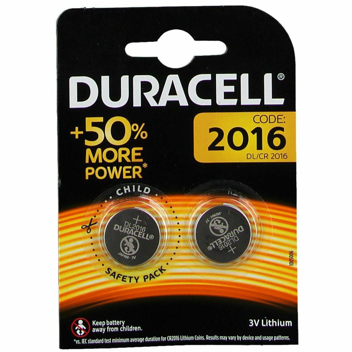 Batteria 2016 duracell plus power