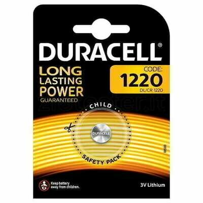 Batteria 1220 duracell plus power