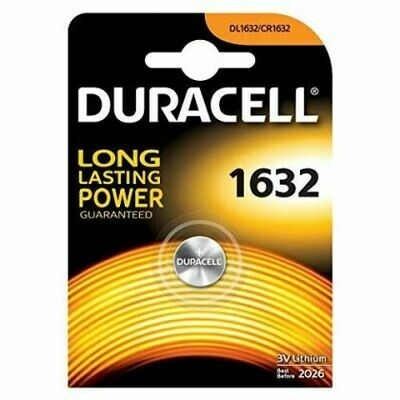 Batteria 1632 duracell plus power