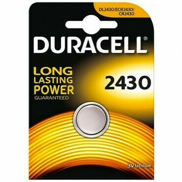 Batteria 2430 duracell plus power