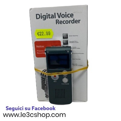 Registratore mp3 Portatile