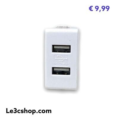 Supporto Presa Elettrica Ricarica Usb