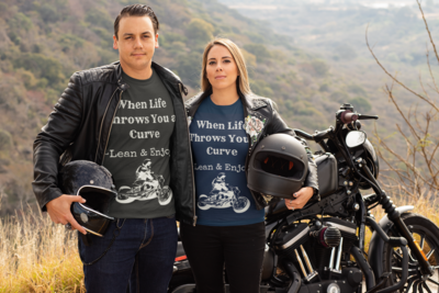 When Life Throws a Curve T-Shirt