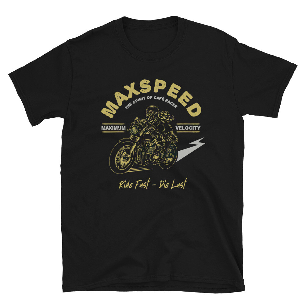 Max Speed Cafe Racer Unisex T-Shirt