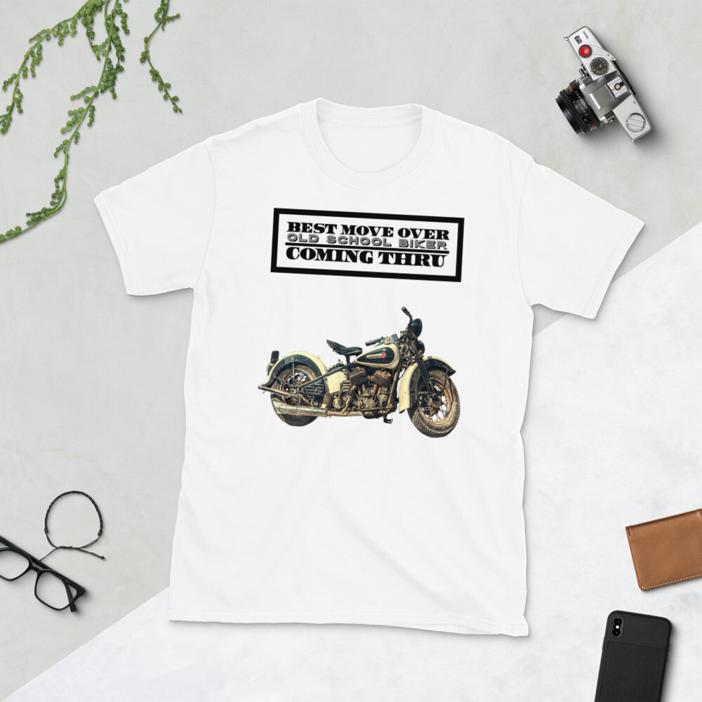 Harley Davidson Old School Biker T-Shirt