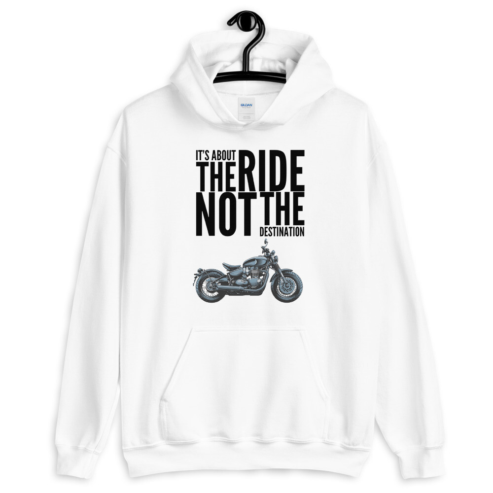 Triumph Bonneville Bobber About The Ride Hoodie