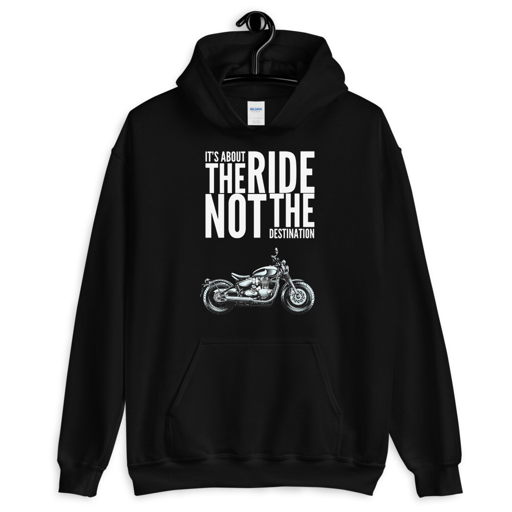Triumph Bobber About The Ride Hoodie