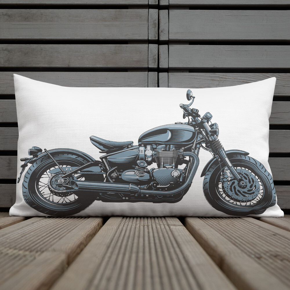 Triumph Bonneville Bobber Pillows and cushions