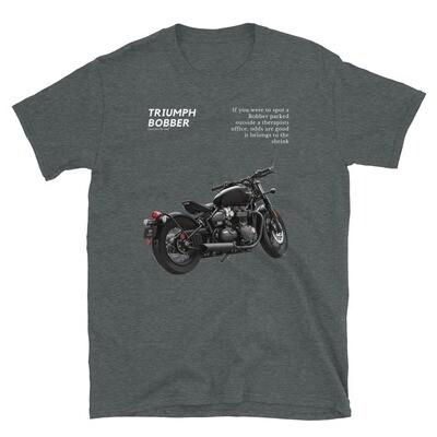 Triumph Bobber Good For The Soul Dark T-Shirt
