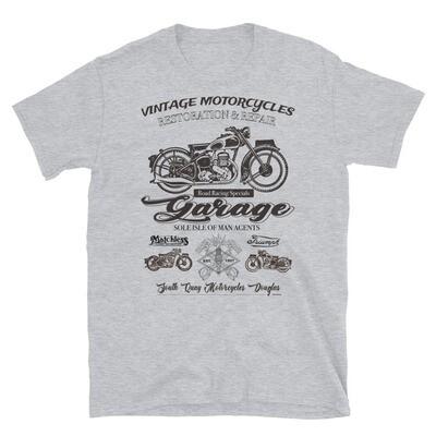 Vintage Manx Motorcycle Repair T-Shirt