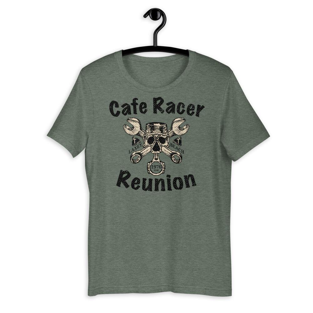 Cafe Racer Vintage Motorcycle T-Shirt