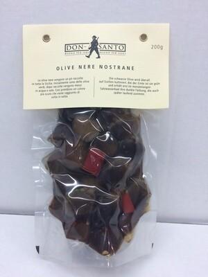 S02-Olive Nere Nostrane 200 g