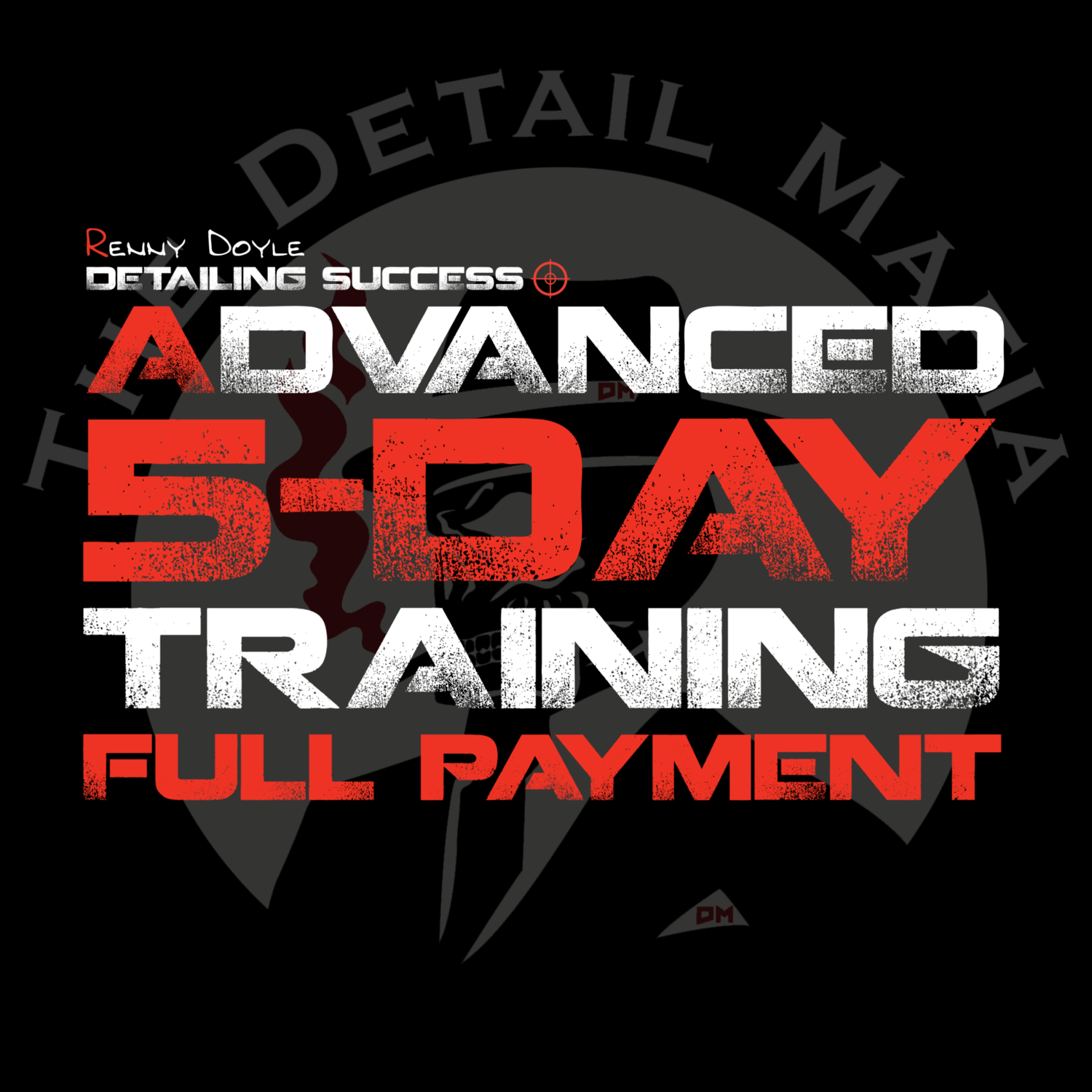 Advanced 5-Day Training Full Payment